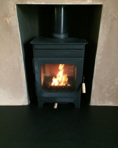 Wood Fuel Stove - Burley Hollywell