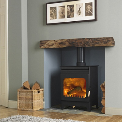 Burley Brampton Multi Fuel Stove, Wood Burning Stoves