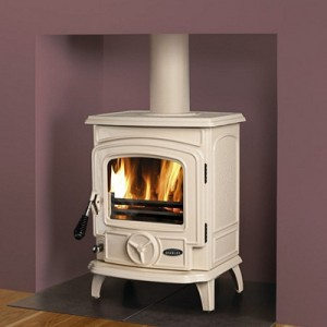 Stanley Oisin Cream Enamelled Stove
