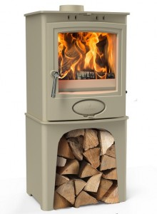 Stove Aarrow Ecoburn Cream